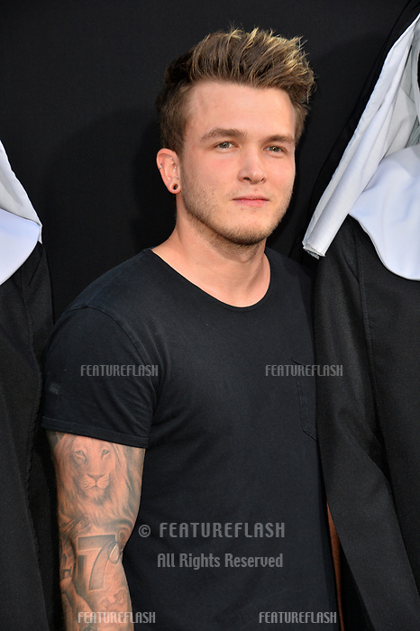 "LOS ANGELES, CA. September 04, 2018: Josh Devine at the world premiere of ""The Nun"" at the TCL Chinese Theatre, Hollywood."