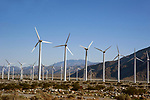Wind mill farm near Palm Springs, California