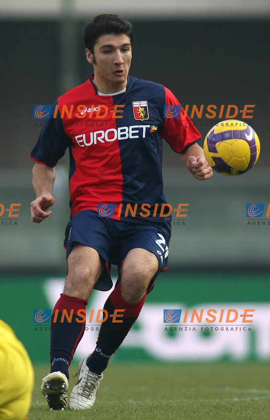 Salvatore Bocchetti (Genoa)<br /> Verona 21/12/2008 &quot;Stadio Marcantonio Bentegodi&quot;<br /> Campionato Serie A Tim 2008/2009<br /> Chievo-Genoa (0-1)<br /> Foto Prater Insidefoto