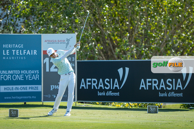 Dylan Frittelli (RSA) during the 2nd round of the AfrAsia Bank Mauritius Open, Four Seasons Golf Club Mauritius at Anahita, Beau Champ, Mauritius. 30/11/2018<br /> Picture: Golffile | Mark Sampson<br /> <br /> <br /> All photo usage must carry mandatory copyright credit (© Golffile | Mark Sampson)