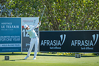 Dylan Frittelli (RSA) during the 2nd round of the AfrAsia Bank Mauritius Open, Four Seasons Golf Club Mauritius at Anahita, Beau Champ, Mauritius. 30/11/2018<br /> Picture: Golffile | Mark Sampson<br /> <br /> <br /> All photo usage must carry mandatory copyright credit (&copy; Golffile | Mark Sampson)