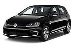 2015 Volkswagen Beetle 1.8T Conv. auto 2 Door Convertible angular front stock photos of front three quarter view