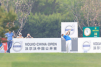 Alexander Levy (FRA) in action during the final round of the Volvo China Open played at Topwin Golf and Country Club, Huairou, Beijing, China 26-29 April 2018.<br /> 29/04/2018.<br /> Picture: Golffile | Phil Inglis<br /> <br /> <br /> All photo usage must carry mandatory copyright credit (&copy; Golffile | Phil Inglis)