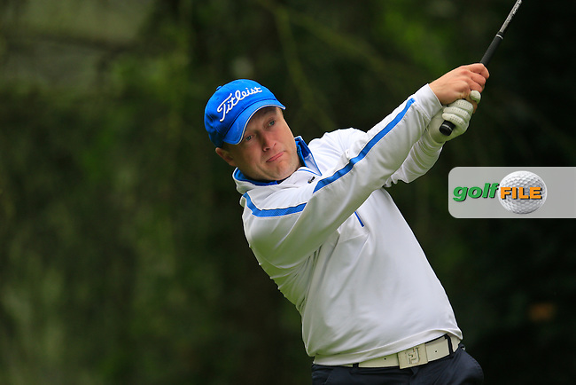 Leo Hynes (Killiney GC) during the second round of the Irish PGA Championship, Dundalk Golf Club, Dundalk Co Louth. 02/10/2015<br /> Picture Golffile | Fran Caffrey | PGA<br /> <br /> <br /> All photo usage must carry mandatory copyright credit (&copy; Golffile | Fran Caffrey | PGA)