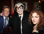 Phyllis Newman, Hunter Ryan Herdicka, Elaine Stritch & Bernadette Peters  attending a reception celebrating Hunter's 54 Below debut with 'You Make Me Feel So Young'  in New York City on 3/25/2013