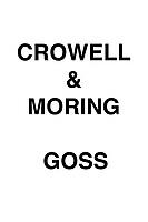 Crowell & Moring Goss