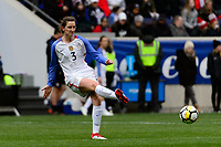 Harrison, NJ - Sunday March 04, 2018: Andi Sullivan during a 2018 SheBelieves Cup match match between the women's national teams of the United States (USA) and France (FRA) at Red Bull Arena.