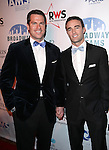 Thomas Roberts & Patrick Abner  attending the Broadway Dreams Foundation's 'Champagne & Caroling Gala' at Celsius at Bryant Park, New York on December 10, 2012