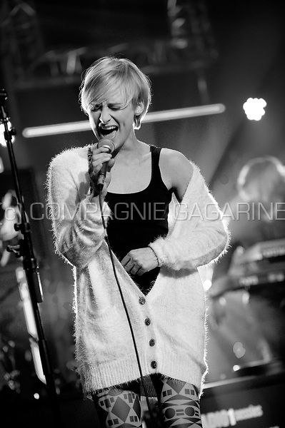 Concert of the Belgian singer Geike Arnaert in the Amerikaans Theater, Brussels (Belgium, 24/11/2011)