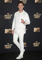 Actor Zac Efron at the 2017 MTV Movie &amp; TV Awards at the Shrine Auditorium, Los Angeles, USA 07 May  2017<br /> Picture: Paul Smith/Featureflash/SilverHub 0208 004 5359 sales@silverhubmedia.com