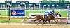 Open The Bank winning at Delaware Park on 7/11/16