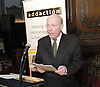 Anne Robinson speaking at an Addaction event in 2007, Mayfair, London, Great Britain <br /> 12th December 2007 <br /> <br /> Julian Alexander Kitchener-Fellowes, Baron Fellowes of West Stafford known as Julian Fellowes