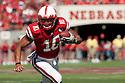 11 September 2010: Nebraska running back Roy Helu Jr. (10) had 107 total yards against Idaho at Memorial Stadium in Lincoln, Nebraska. Nebraska defeated Idaho 38 to 17.