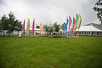 Thursday 22 May 2014<br /> Pictured: Vies of the Hay Festival site as it opens on the first Morning, <br /> Re: Hay Festival takes place at Hay on Wye, Powys, Wales