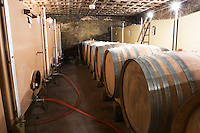 wooden vats stainless steel tanks domaine roger sabon chateauneuf du pape rhone france