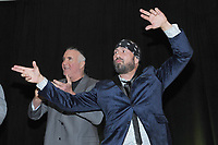 LAS VEGAS, NV - MAY 02: Scott Hall and Sean Waltman at the 2018 Cauliflower Alley Club Awards Banquet And Dinner at the Gold Coast Hotel & Casino in Las Vegas, Nevada on May 2, 2018. Credit: George Napolitano/MediaPunch