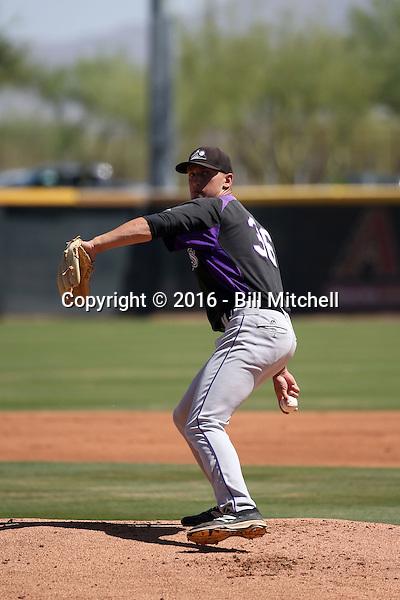 Mike Nikorak - Colorado Rockies 2016 extended spring training (Bill Mitchell)