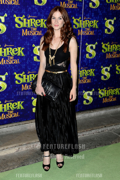 "Juliet Oldfield arrives for the 1st night party of ""Shrek The Musical"" at Somerset House, London. 14/06/2011  Picture by: Steve Vas / Featureflash"