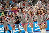 Cheerleaders during 2014 FIBA Basketball World Cup Quarter-Finals match.September 9,2014.(ALTERPHOTOS/Acero)