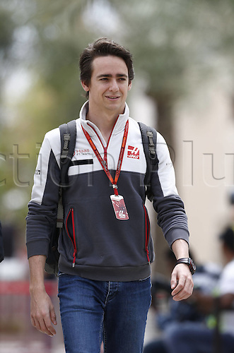 01.04.2016. Bahrain. FIA Formula One World Championship 2016, Grand Prix of Bahrain, Practise day. 21 Esteban Gutierrez (MEX, Haas F1 Team)