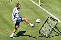 22nd April 2020, Munich, Germany; Serge GNABRY (Bayern Munich) during Bayern Munich Training during the covid-19 pandemic