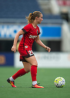 Orlando, FL - Sunday June 26, 2016: Amandine Henry  during a regular season National Women's Soccer League (NWSL) match between the Orlando Pride and the Portland Thorns FC at Camping World Stadium.