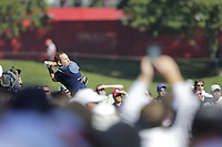 Sergio Garcia (Team Europe) on the 3rd tee during the Friday afternoon Fourball at the Ryder Cup, Hazeltine national Golf Club, Chaska, Minnesota, USA.  30/09/2016<br /> Picture: Golffile | Fran Caffrey<br /> <br /> <br /> All photo usage must carry mandatory copyright credit (&copy; Golffile | Fran Caffrey)