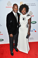 BEVERLY HILLS, CA. October 26, 2018: Viola Davis & Julius Tennon at the 2018 British Academy Britannia Awards at the Beverly Hilton Hotel.<br /> Picture: Paul Smith/Featureflash