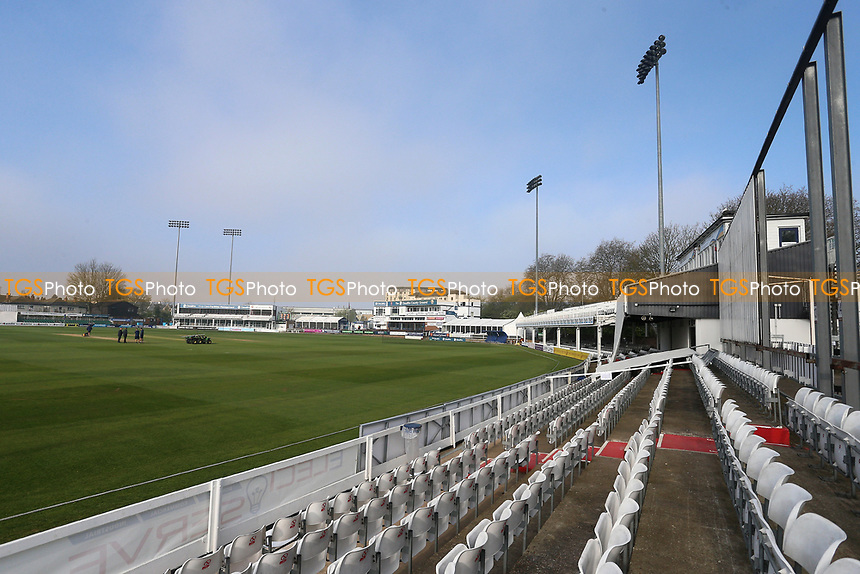 General view of the ground ahead of Essex CCC vs Lancashire CCC, Specsavers County Championship Division 1 Cricket at The Cloudfm County Ground on 8th April 2017