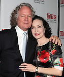 Chris Calkins & Bebe Neuwirth attending the Opening Night Party for the Manhattan Theatre Club's 'Golden Age' at Beacon Restaurant in New York City on December 4, 2012.