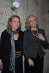 """Passions Juliet Mills and sister Hayley Mills arrive at """"Arcadia"""" - Broadway Opening Night on March 17, 2011 at the Ethel Barrymore Theatre, New York City, New York.  Arrivals, Curtain Call and Party after at Gotham Hall. (Photo by Sue Coflin/Max Photos)"""