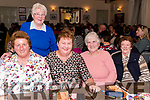 Supporting the Thrashing Cancer bingo night in The Manor Inn, Killorglin on Friday.<br /> L-R Eileen O'Sullivan, Anita Galvin, Breda O'Sullivan, Bridie Cahill.Kitty Clifford.