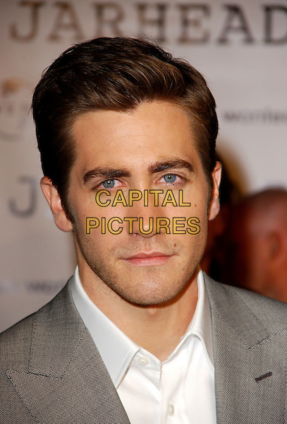 "JAKE GYLLENHAAL .L.A. Premiere of ""Jarhead"" held at The Arclight Theatre in Hollywood, California  .October 27th, 2005.Ref: DVS.headshot portrait.www.capitalpictures.com.sales@capitalpictures.com.Supplied By Capital PIctures"