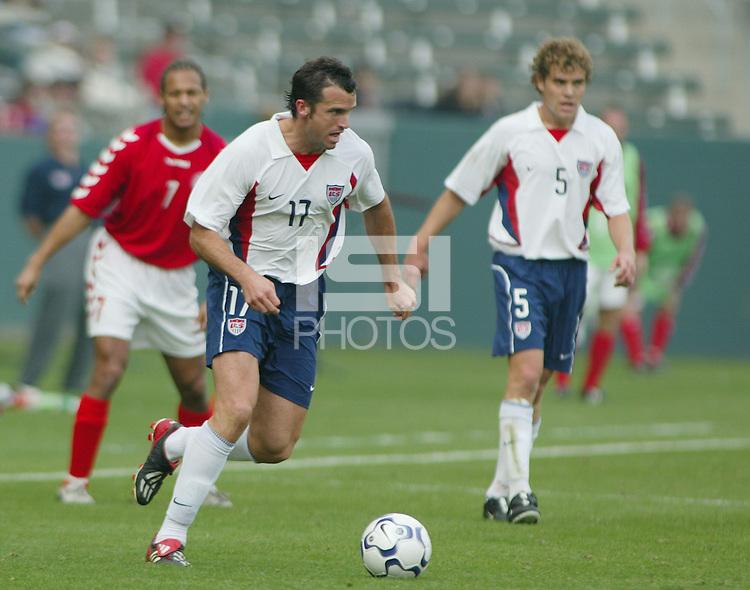 Chris Klein, Denmark vs. USA, 2004.
