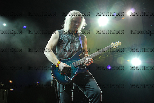 Deep Purple - guitarist Steve Morse - Performing Live On Stage At The O2 Arena in London, UK - 30 Nov 2011.  Photo ..Credit: Ben Rector/IconicPix