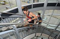 OFK TRAPLOPEN: HEERENVEEN: ABE LENSTRA STADION, 17-10-2012, Erik Negerman, Jeroen Vochteloo (#2), ©foto Martin de Jong