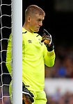 Everton's Jordan Pickford during the pre season friendly match at Goodison Park Stadium, Liverpool. Picture date 6th August 2017. Picture credit should read: Paul Thomas/Sportimage