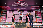 German Champion Pascal Ackermann (GER) Bora-Hansgrohe wins Stage 2 and the comemorative plaque for the Bartali Stage of the 2019 Giro d'Italia, running 205km from Bologna to Fucecchio, Italy. 12th May 2019<br /> Picture: Marco Alpozzi/LaPresse | Cyclefile<br /> <br /> All photos usage must carry mandatory copyright credit (© Cyclefile | Marco Alpozzi/LaPresse)