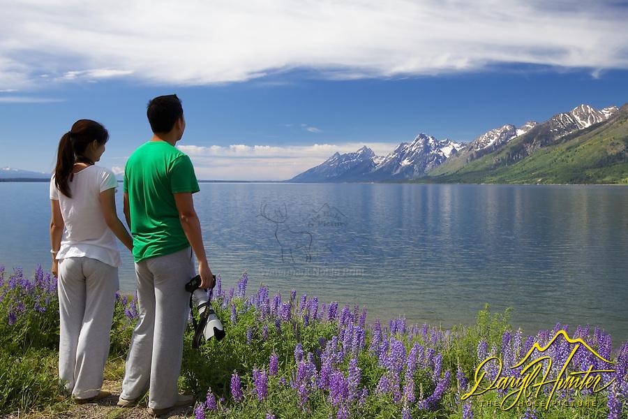 Asian photographers, Jackson Lake, Grand Tetons, Grand Teton Park