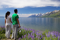 Asian photographers, Jackson Lake, Grand Tetons, Grand Teton Park