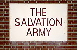 The Salvation Army sign
