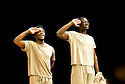 11 and 12. A CICT/Theatre des Bouffes du Nord Production adapted from the works of Amadou Hampate Ba by Marie-Helene Estienne and Peter Brook. Directed by Peter Brook.With Jared McNeill,Tunji Lucas,Opens at The Barbican Theatre on 10/2/10. Credit Geraint Lewis