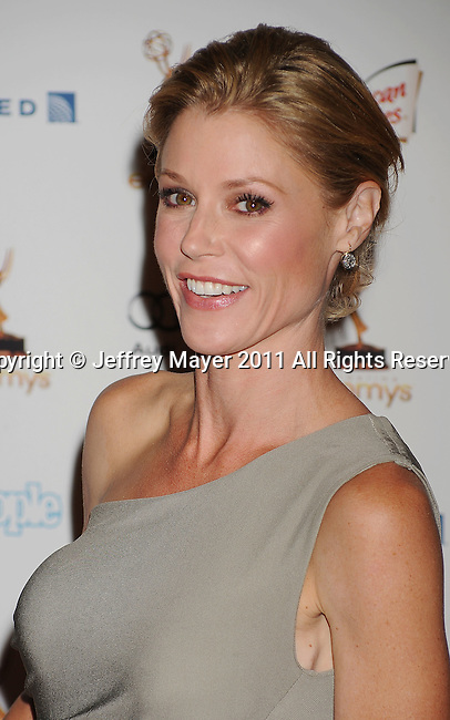 WEST HOLLYWOOD, CA - SEPTEMBER 16: Julie Bowen attends the 63rd Annual Emmy Awards Performers Nominee Reception held at the Pacific Design Center on September 16, 2011 in West Hollywood, California.