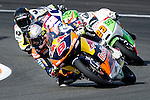 The rider Jack Miller during Moto3 race in Valencia. 2014/11/09. Spain. Samuel de Roman / Photocall3000.