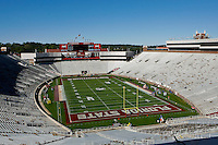 November 27, 2010:    General view of Doak Campbell Stadium and Bobby Bowden Field prior to the start of the game between the ACC Conference Florida State Seminoles and the SEC Conference University of Florida Gators at Doak Campbell Stadium in Tallahassee, Florida.