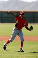 Humberto Valor - Cincinnati Reds 2009 Instructional League. .Photo by:  Bill Mitchell/Four Seam Images..