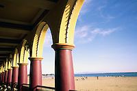 California, Santa Cruz, Santa Cruz Beach Boardwalk, Arcade