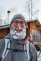 Man with a frosty beard, Greg Koop