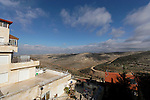 Judea, Beth El Mountains. Settlement Beth Horon founded in 1977