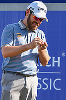 Louis Oosthuizen (RSA) waits to tee off on 1 during Round 3 of the Zurich Classic of New Orl, TPC Louisiana, Avondale, Louisiana, USA. 4/28/2018.<br /> Picture: Golffile | Ken Murray<br /> <br /> <br /> All photo usage must carry mandatory copyright credit (&copy; Golffile | Ken Murray)